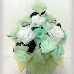 スクエアーリボンアート®284薔薇花束