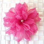 Ribbon縫い花アート
